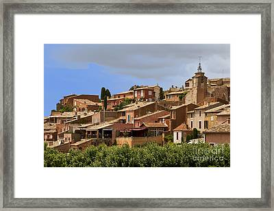 Rousillon Framed Print by Stan and Anne Foster