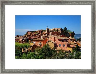 Roussillon Framed Print