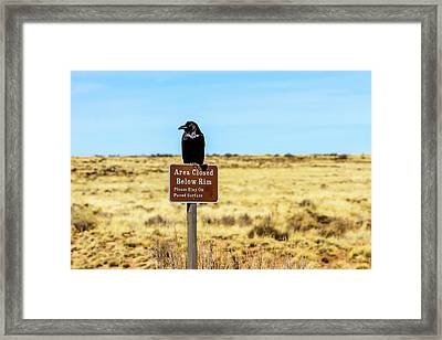 Rout 66 Watch Framed Print