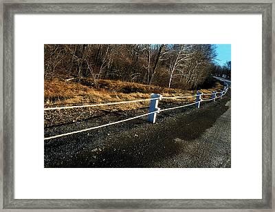 Route 6  #2 Framed Print by David M Davis