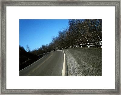 Route 6  #8 Framed Print by David M Davis