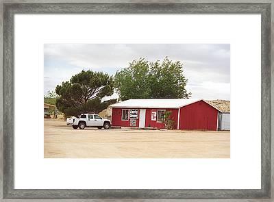 Route 66 - Bert's Country Dancing Framed Print