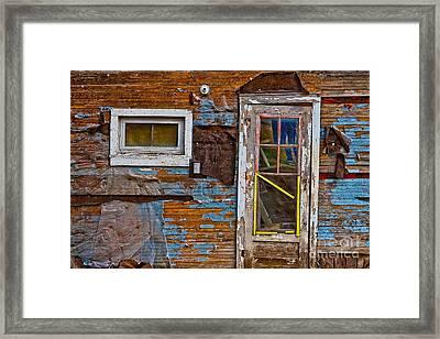 Route 66 Brothel In Galena Kansas Framed Print