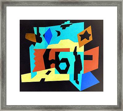 Route 66 Day Into Night Framed Print by Stephen Davis