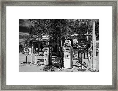 Route 66 Framed Print by Henk Meijer Photography