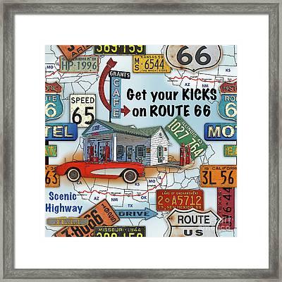 Route 66-jp3933 Framed Print