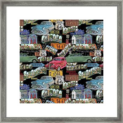 Route 66-jp3939-b Framed Print