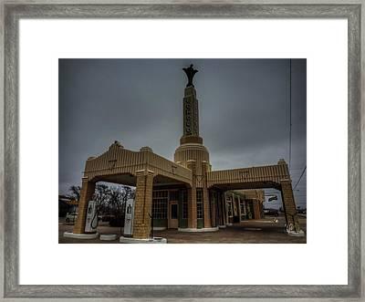 Route 66 - U-drop Inn 002 Framed Print