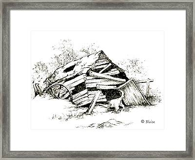 Rover's Find Framed Print
