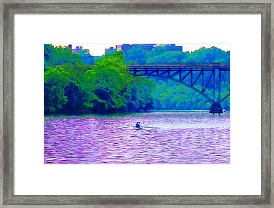 Row Row Row Your Boat Framed Print by Bill Cannon