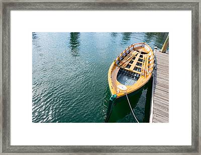 Rowboat Framed Print