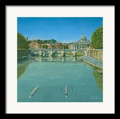 Cambridge Paintings Framed Prints