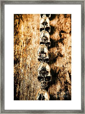 Rowing Sculls Framed Print