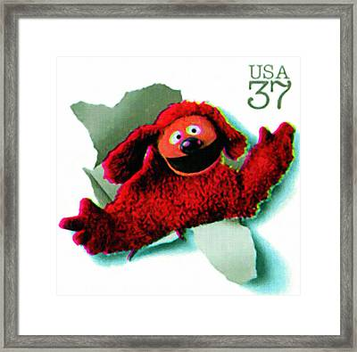 Rowlf The Dog Framed Print by Lanjee Chee