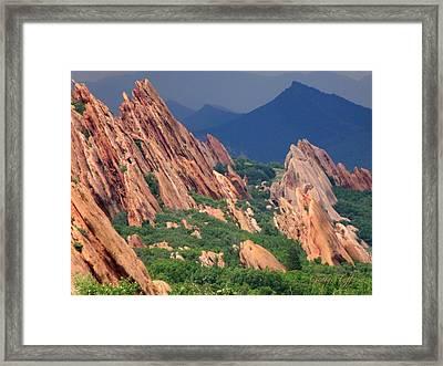 Roxborough State Park Framed Print