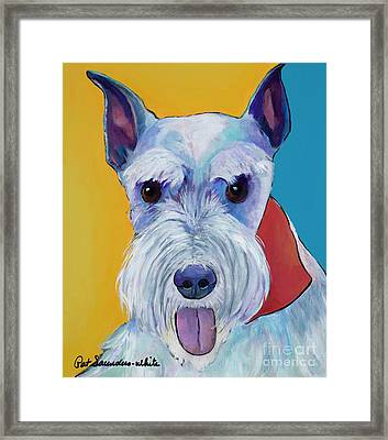Roxy Framed Print by Pat Saunders-White