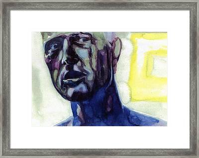 Roy # 2 Framed Print by Mark Benton
