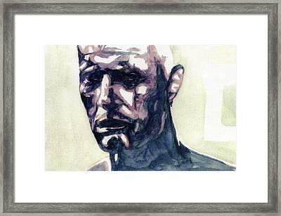 Roy # 5 Framed Print by Mark Benton