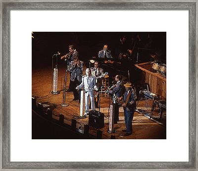 Roy Acuff At The Grand Ole Opry Framed Print