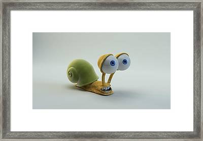 Roy Framed Print by BaloOm Animation Studios