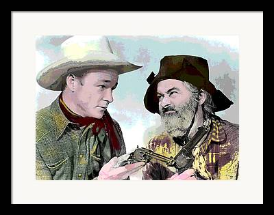 Western United States Mixed Media Framed Prints