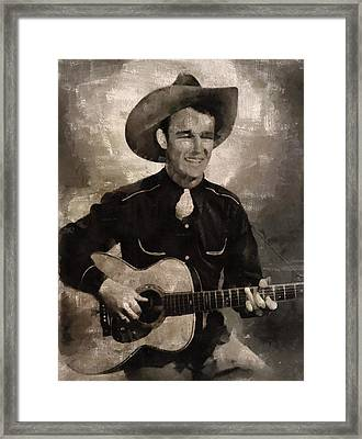 Roy Rogers, Western Star And Singer Framed Print