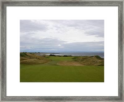 Royal Aberdeen Scotland Golf Framed Print by Jan Daniels