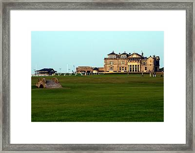 Royal And Ancient Golf Club At St Andrews Framed Print by Lyle  Huisken