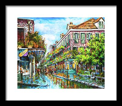 Town Framed Prints