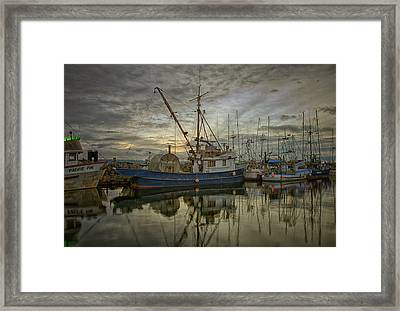 Framed Print featuring the photograph Royal Banker by Randy Hall