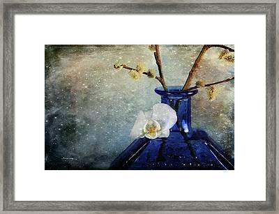 Royal Blue Framed Print by Randi Grace Nilsberg