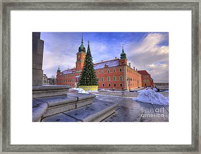 Framed Print featuring the photograph Royal Castle by Juli Scalzi