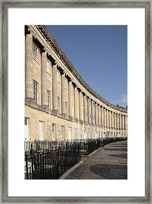 Royal Crescent, Bath, Avon Framed Print by Anthony Collins