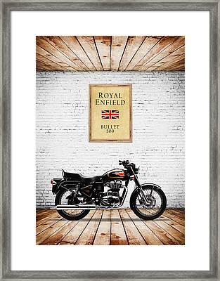 Royal Enfield Bullet 500 Framed Print by Mark Rogan