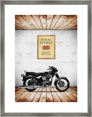 Royal Enfield Bullet Electra Framed Print