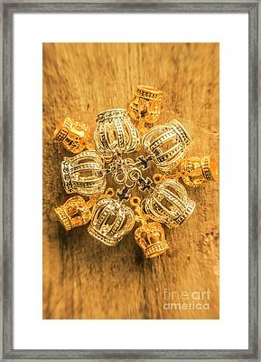 Royal Family Jewelry Framed Print by Jorgo Photography - Wall Art Gallery