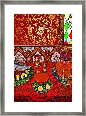 Royal Feast. Framed Print by Andy Za