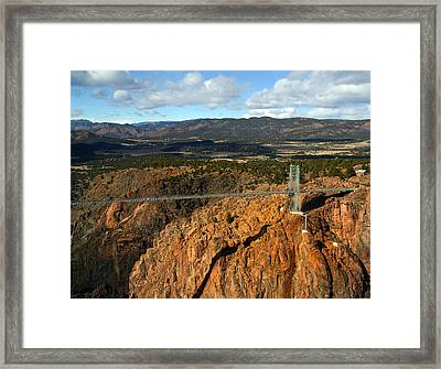 Royal Gorge Framed Print