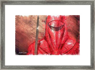 Royal Guard Framed Print by Leonardo Digenio