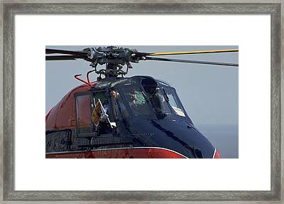 Royal Helicopter Framed Print