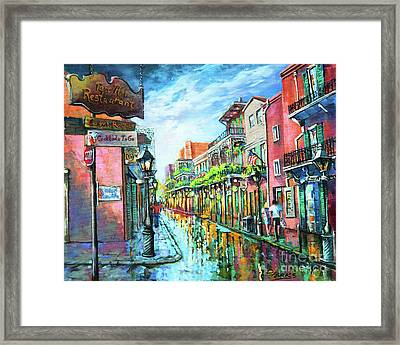 Royal Lights Framed Print