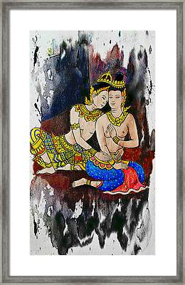Royal Lovers Of Siam  Framed Print by Ian Gledhill