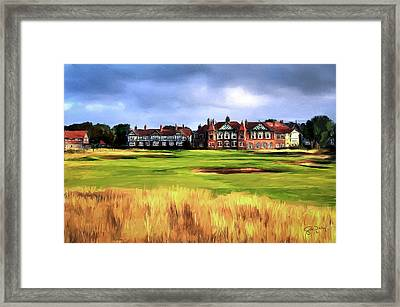 Royal Lytham St. Annes Golf Club Framed Print