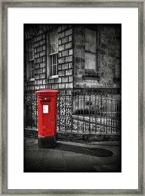 Royal Mail Framed Print by Evelina Kremsdorf