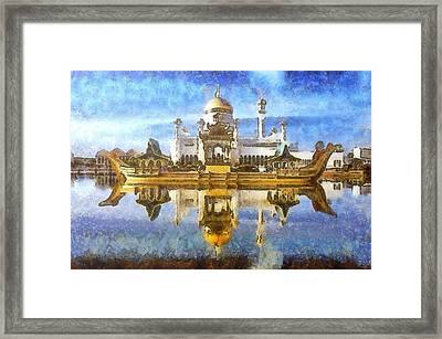 Royal Mosque  Framed Print