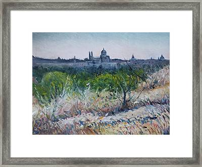 Royal Palace Madrid Spain 2016 Framed Print