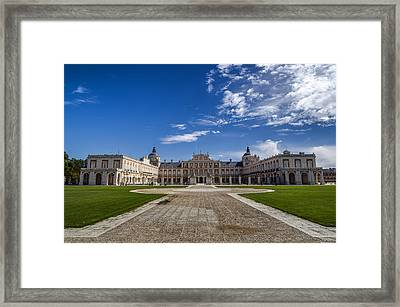 Royal Palace Of Aranjuez Framed Print