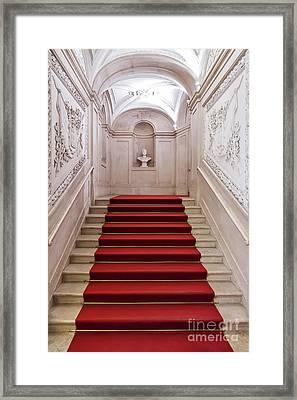 Royal Palace Staircase Framed Print by Jose Elias - Sofia Pereira