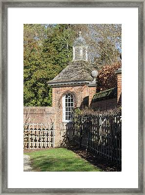 Royal Potting Shed Framed Print