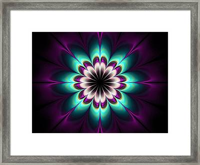 Royal Purple Framed Print